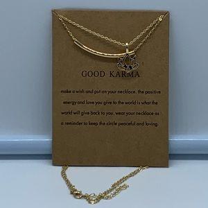 Jewelry - New Good Karma positive energy fashion necklace